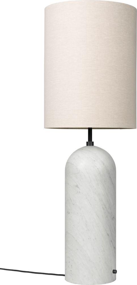 130, Canvas, Grey Marble,GUBI,Floor Lamps