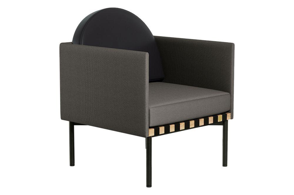 Grey - black,Petite Friture,Armchairs