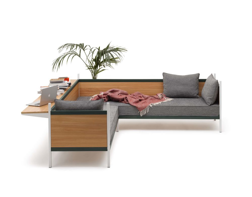 Category 1, Metal grid, Low support,Established & Sons,Breakout Sofas
