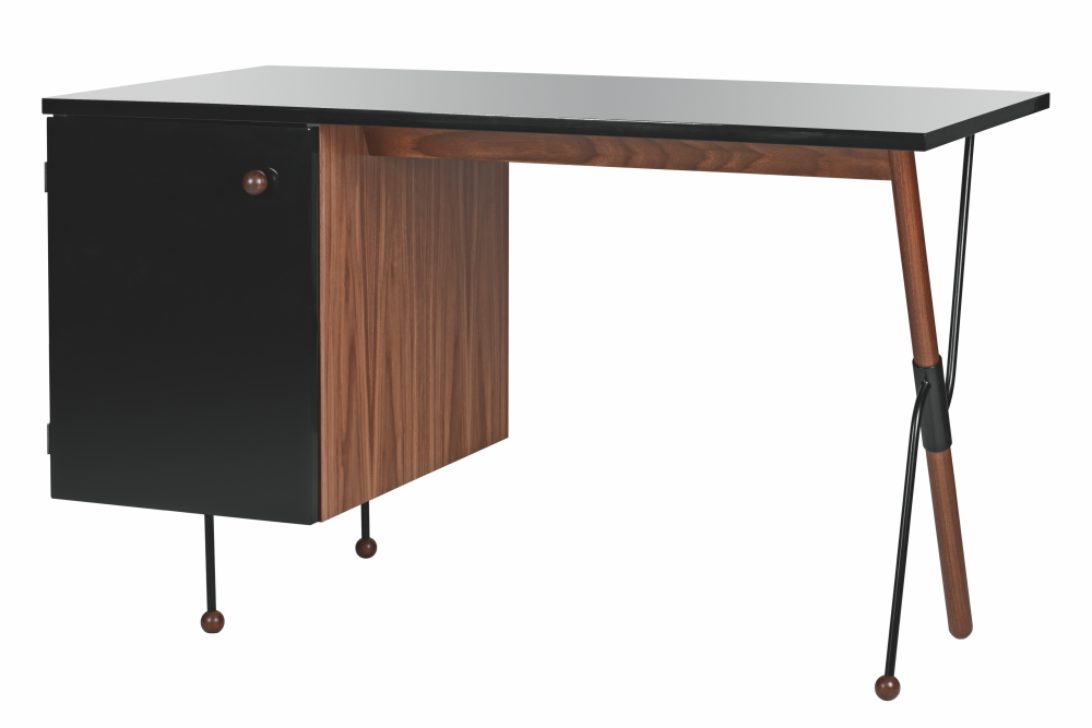 GUBI,Office Tables & Desks,computer desk,desk,furniture,line,rectangle,table,writing desk