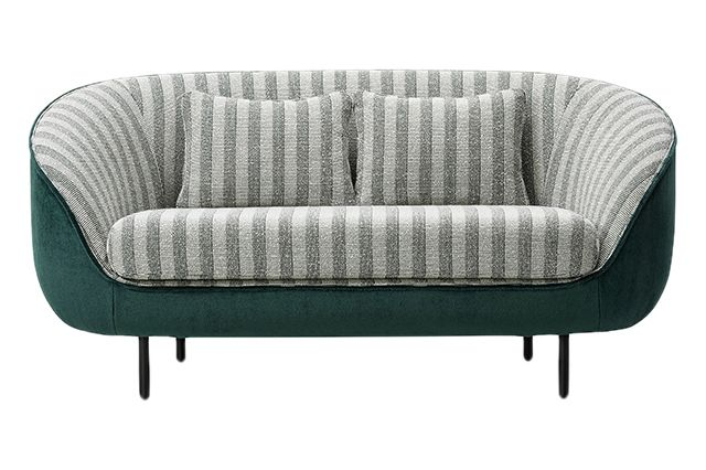 Back Leather 3, Front Fabric 5,Fredericia,Sofas