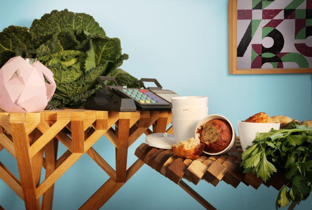FUNDAMENTAL.BERLIN,Coffee & Side Tables,cruciferous vegetables,furniture,leaf vegetable,room,shelf,table,vegetable