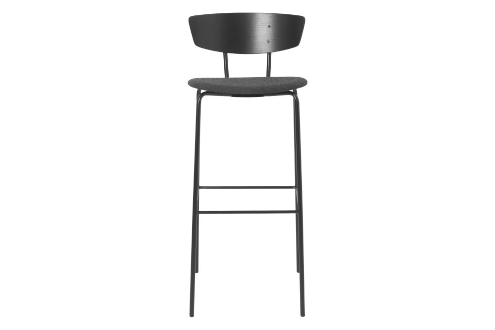 Aniline Leather, High,ferm LIVING,Stools