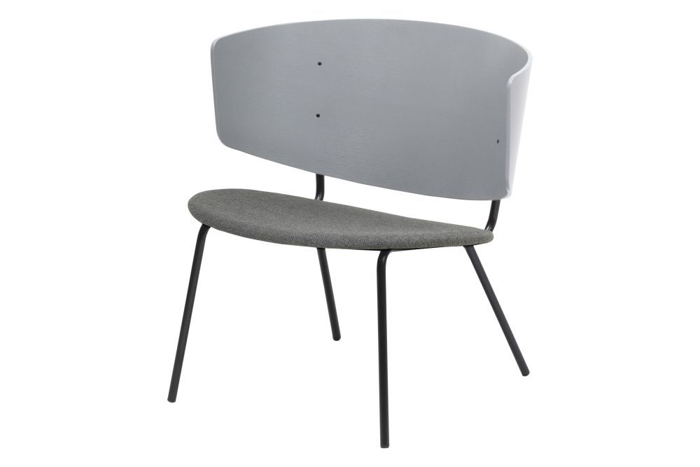 Herman Lounge Chair with Upholstered Seat - Set of 2 by ferm LIVING