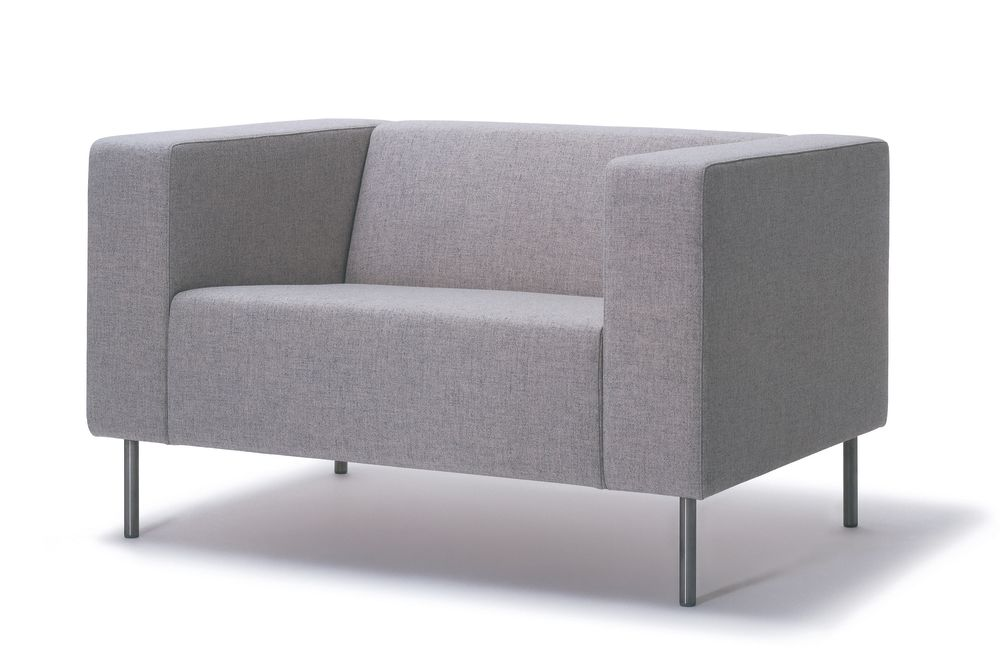 Vescom Ponza Velvet Brushed Stainless Steel,Hitch Mylius,Breakout Lounge & Armchairs