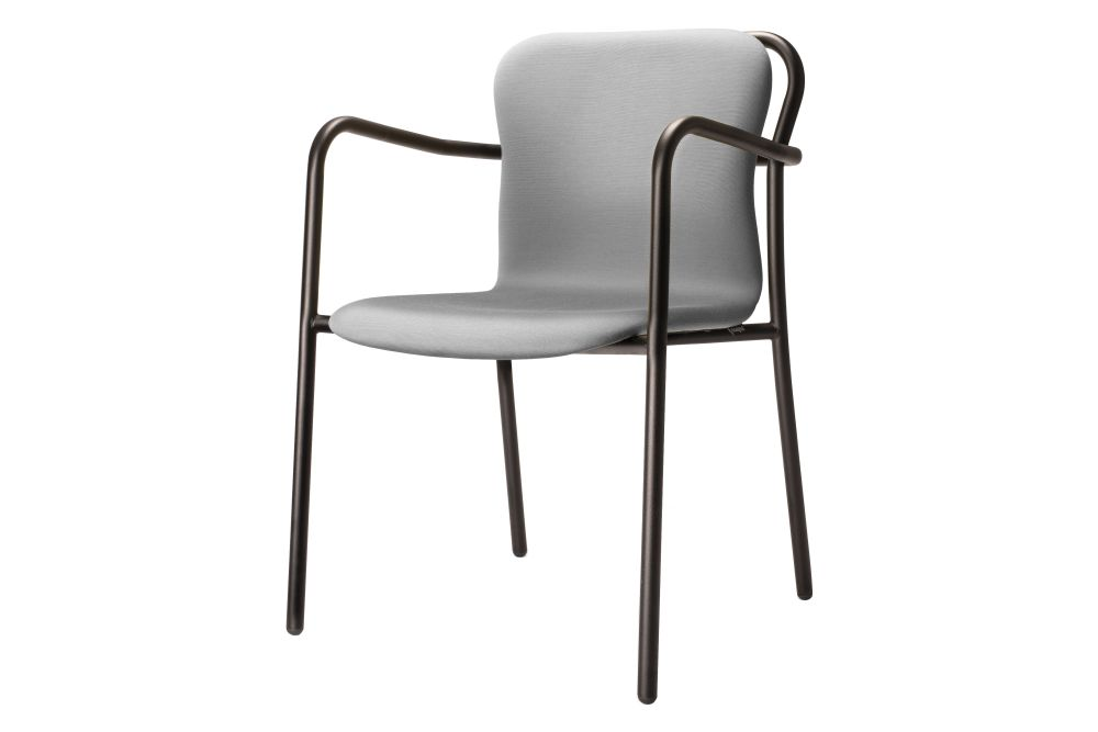 Hug Soft Dining Chair with Armrests by Deadgood