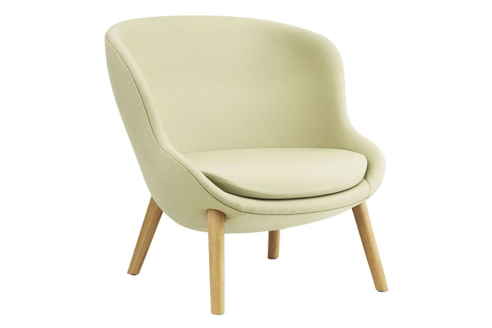 Main Line Flax, Lacquered Oak,Normann Copenhagen,Lounge Chairs