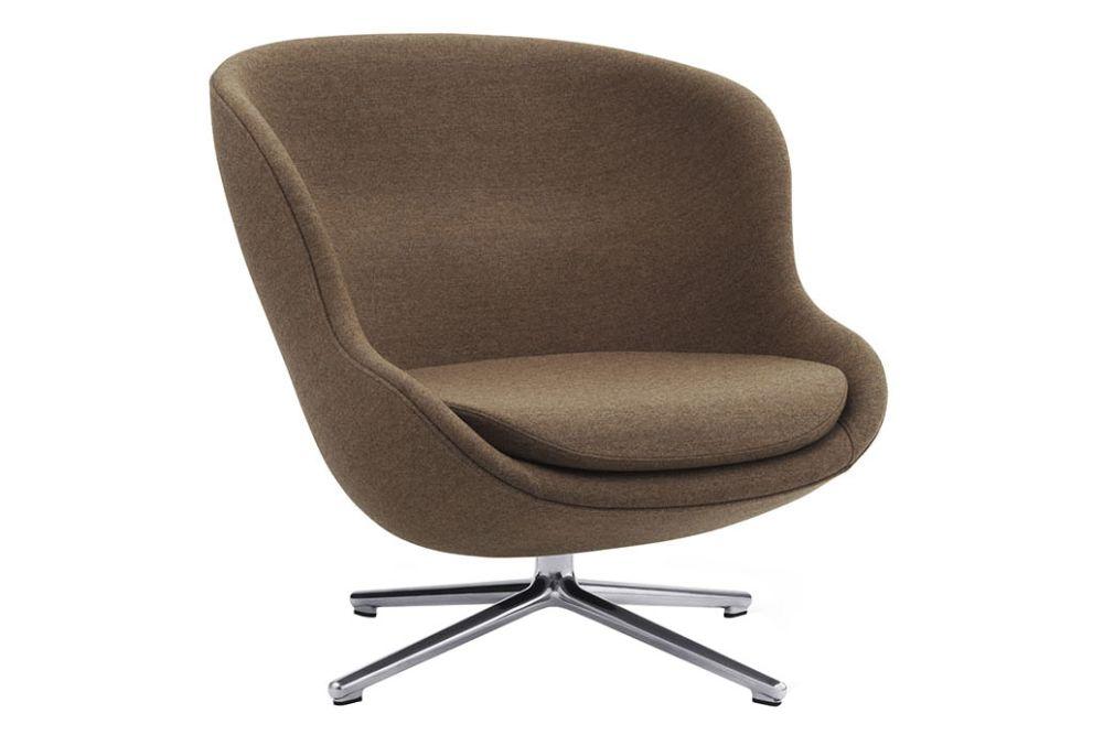 Main Line Flax, Aluminium, No Tilt,Normann Copenhagen,Lounge Chairs