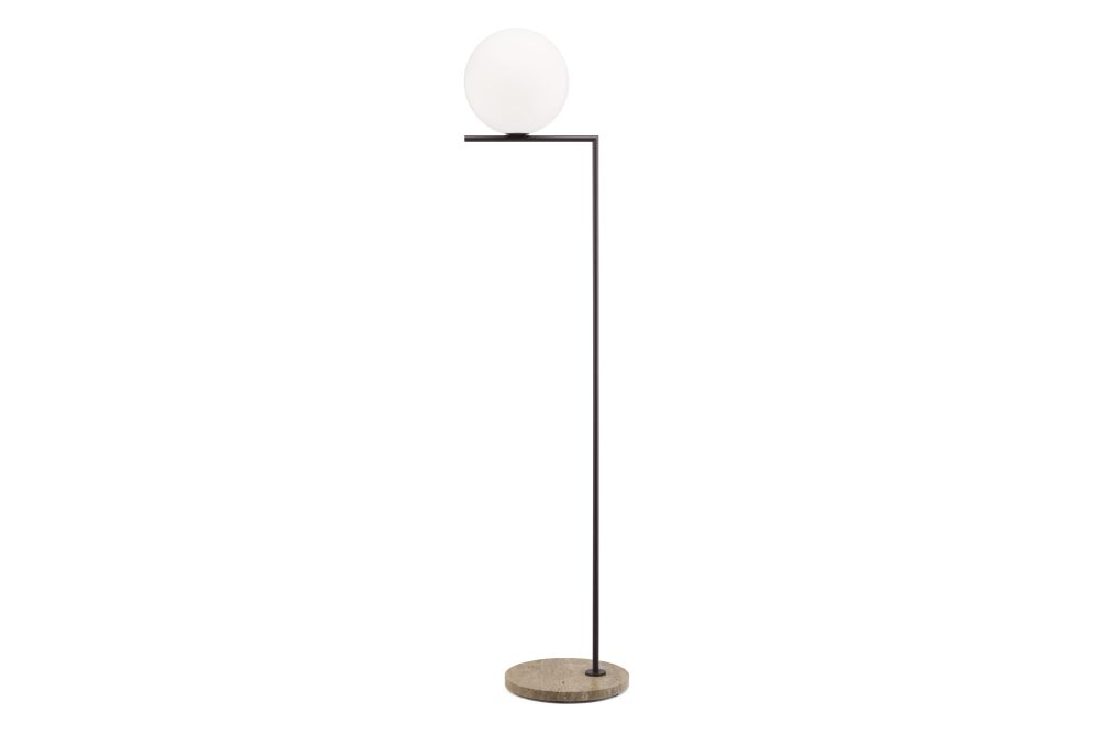 Deep Brown / Imperial Travertine Stone, IC F2, H 185.2 cm,Flos,Outdoor Lighting