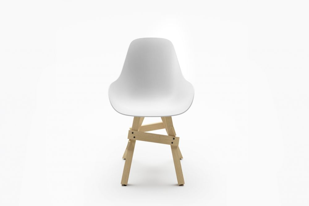 Dimple,Sander Mulder,Dining Chairs,beige,chair,furniture,white
