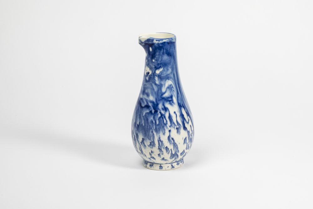 Indigo Storm Jug by 1882 Ltd