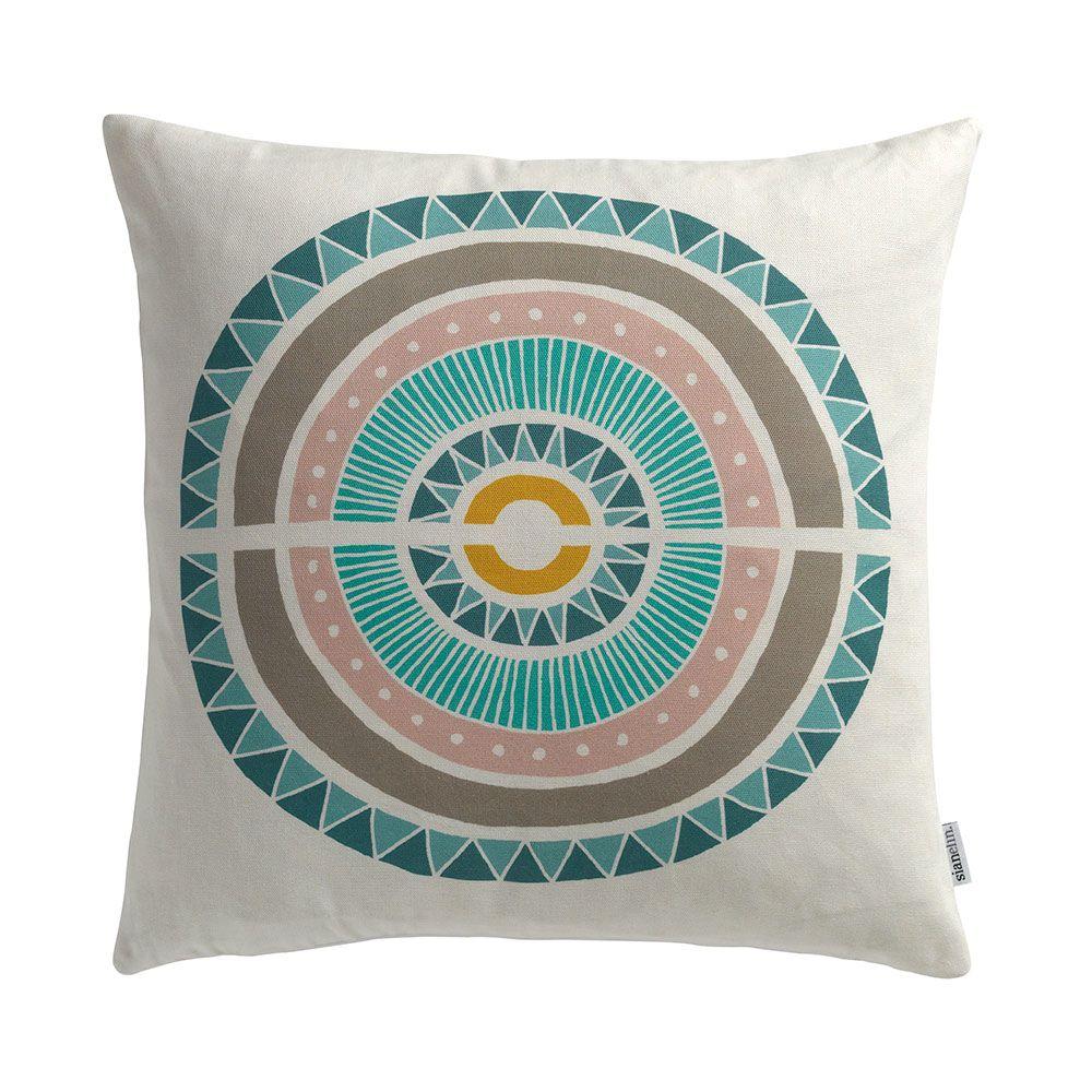 Inlay Cushion by Sian Elin