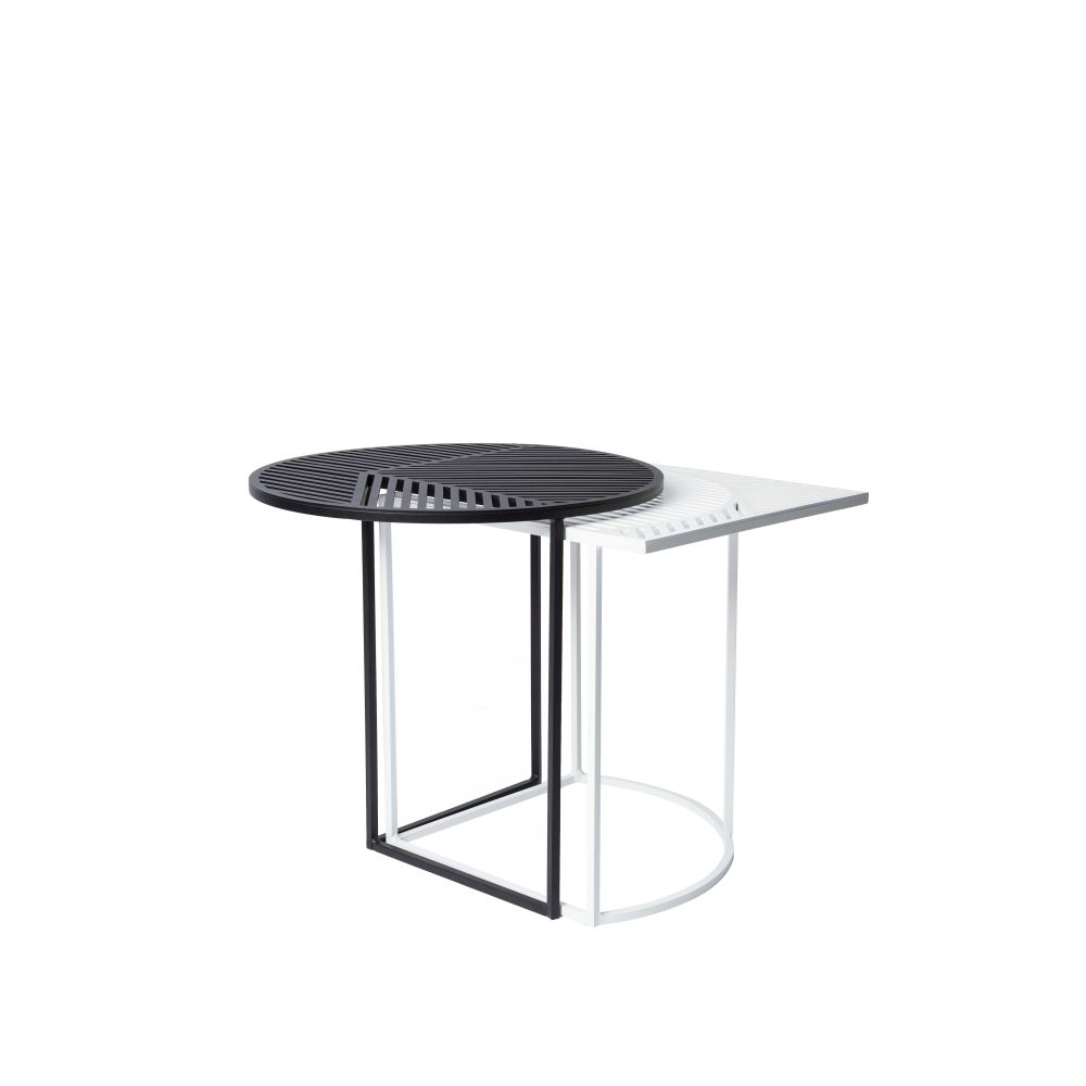 White,Petite Friture,Coffee & Side Tables,coffee table,end table,furniture,outdoor table,table