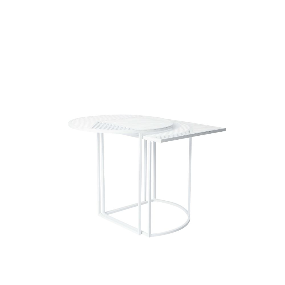 Blue,Petite Friture,Coffee & Side Tables,coffee table,end table,furniture,outdoor table,table