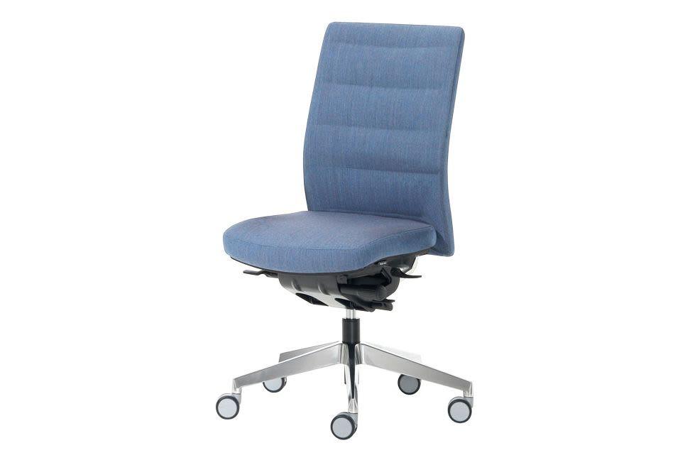 Excellent Itek 200 Chair Upholstered On Castors By Inclass Machost Co Dining Chair Design Ideas Machostcouk