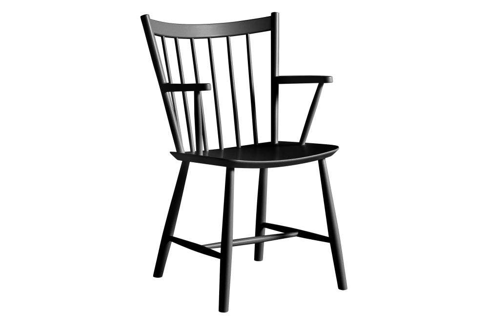 J42 Dining Chair with Armrests by Hay