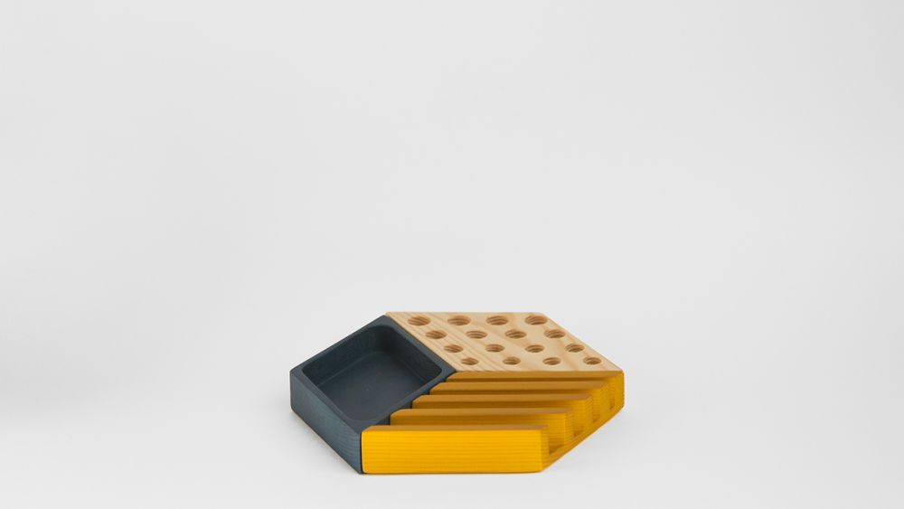 Kesito Desk Tidy by WOODENDOT