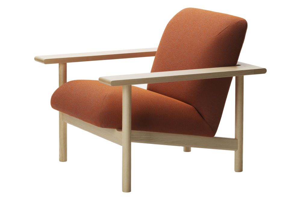 Kinoko Lounge Chair with Wooden Frame by Zilio Aldo & C