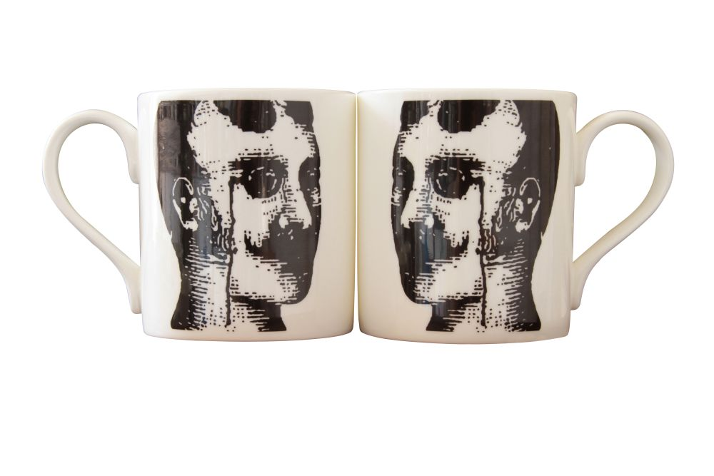Kit Prussian Head Mug by Peter Ibruegger Studio
