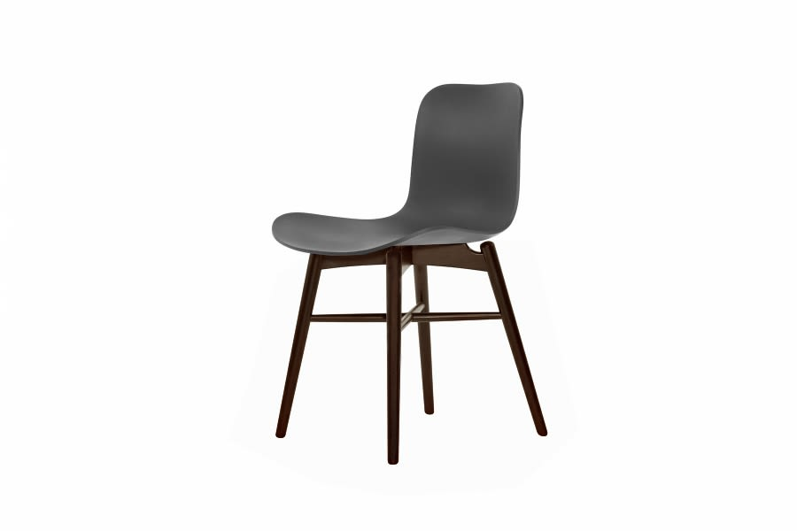 Langue Original Dining Chair, Dark Stained by NORR11