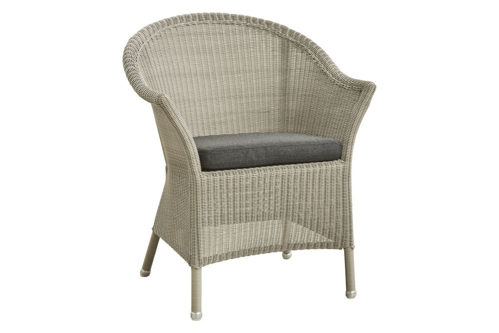 LU Natural, YSN95 Grey,Cane Line,Armchairs