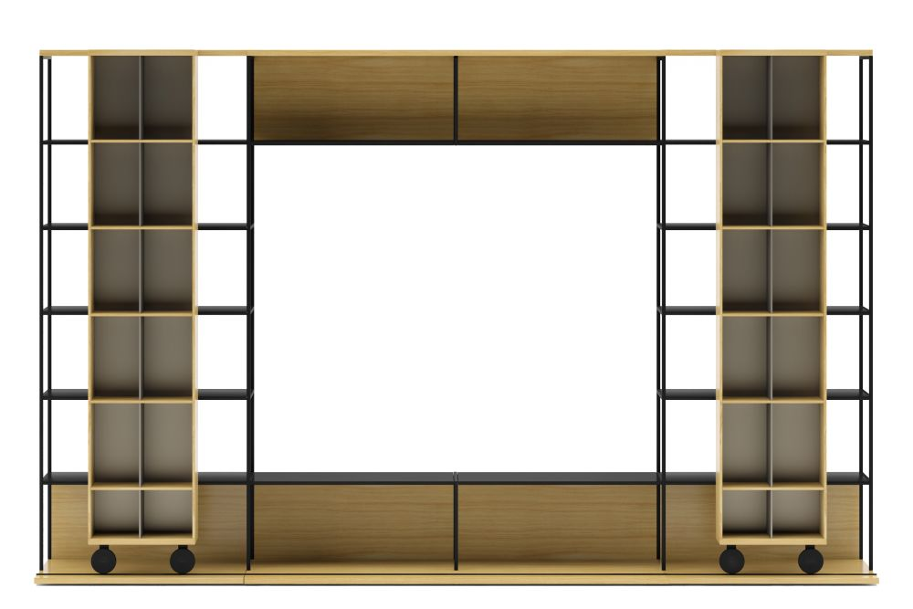 Literatura Open Sideboard with TV Module by Punt