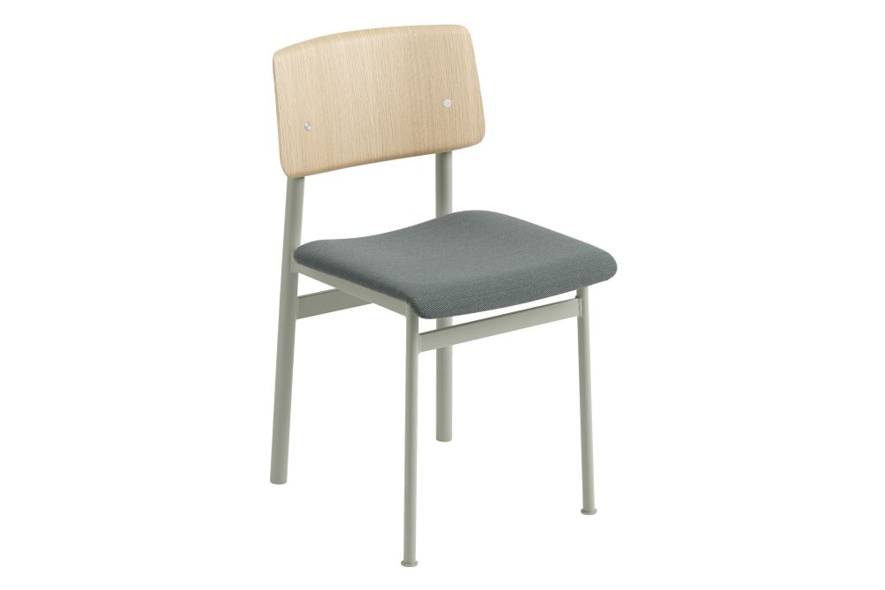 Loft Chair - Upholstered - Set of 4 by Muuto