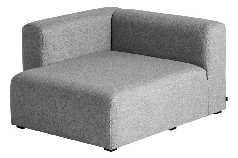 Mags Wide Chaise Longue Short Seating Corner by Hay