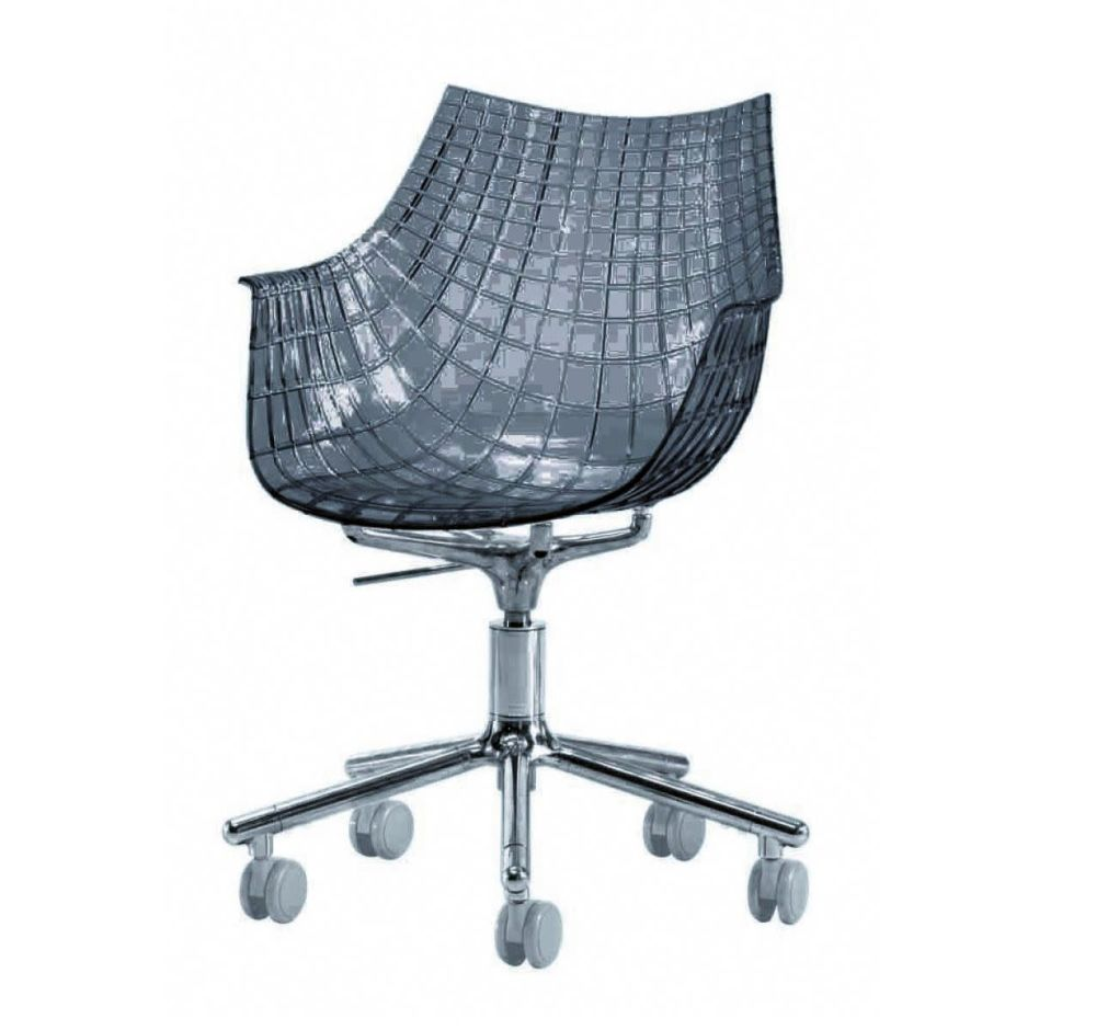 Meridiana Chair on Soft Castors by Driade