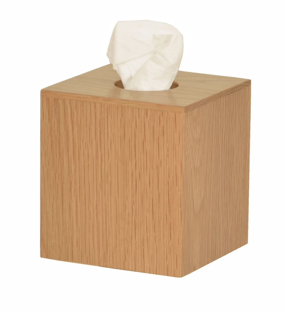 Mezza Tissue Box Cube by Wireworks