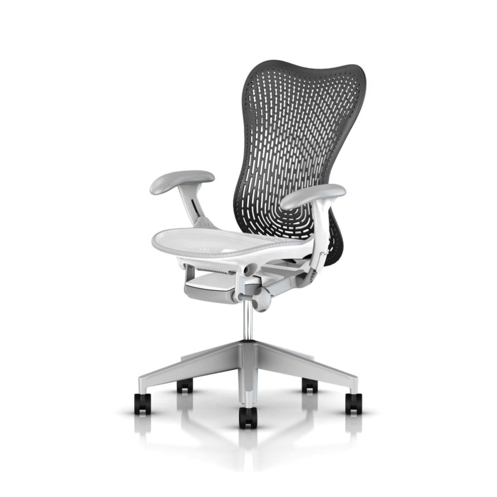 Studio White base and Graphite back,Herman Miller,Task Chairs