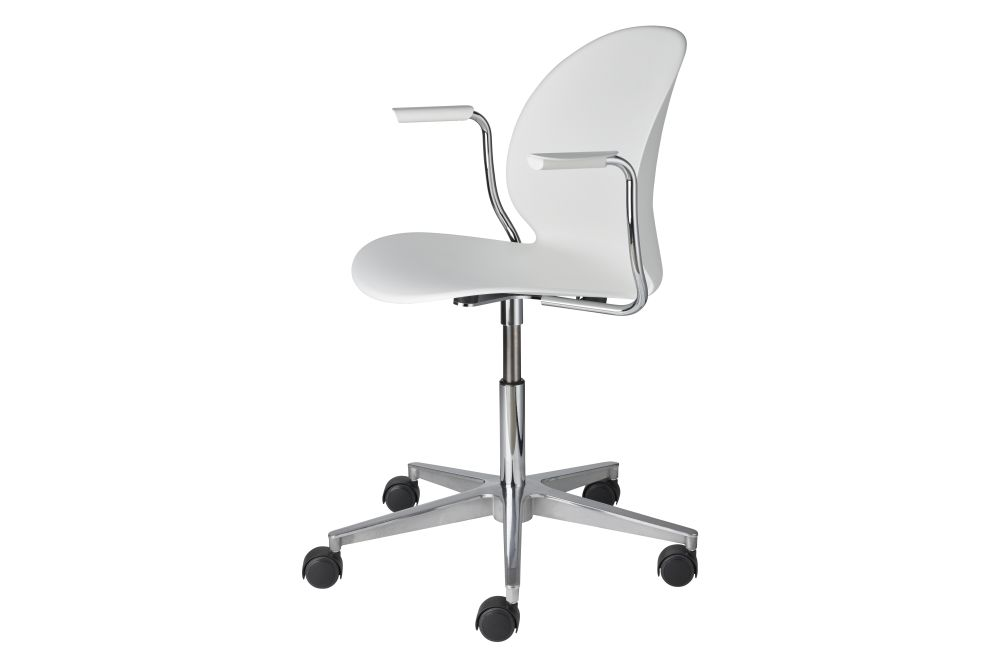 swivel arm, off white,Fritz Hansen,Conference Chairs
