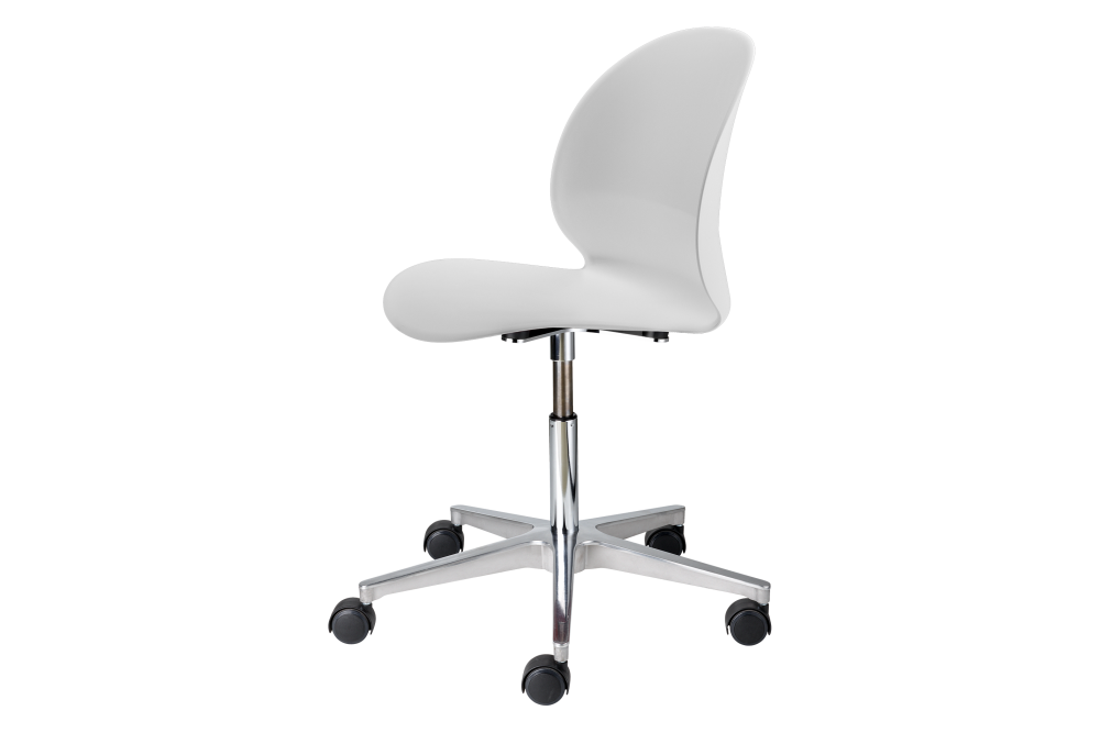 swivel no arm, off white,Fritz Hansen,Conference Chairs