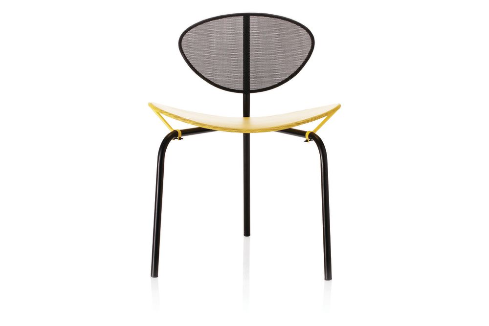 Gubi Metal Midnight Black,GUBI,Dining Chairs,chair,coffee table,end table,furniture,table