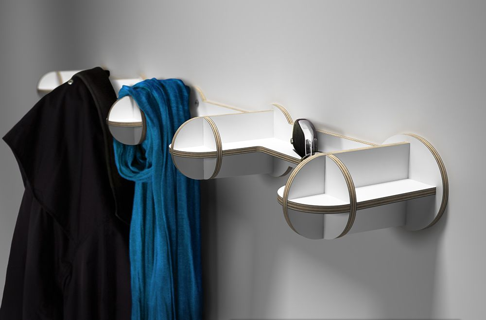 Nibby Coat Rack by aCathroDESIGN