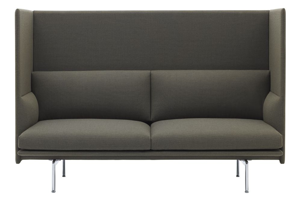 Remix, Metal Black,Muuto,Sofas