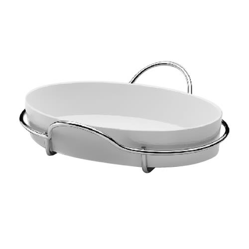 Oval oven dish - 40 cm by Serafino Zani