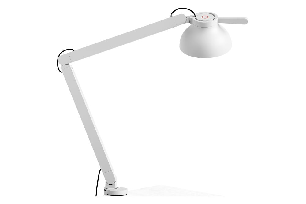 PC Double Arm Table Lamp, with Clamp by Hay