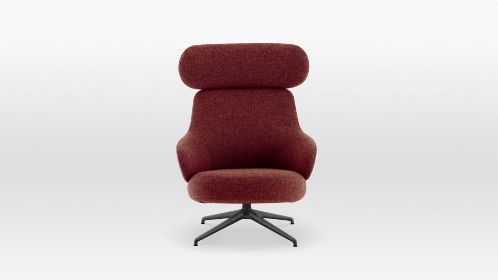 Pillo High Back Easy Chair by Swedese
