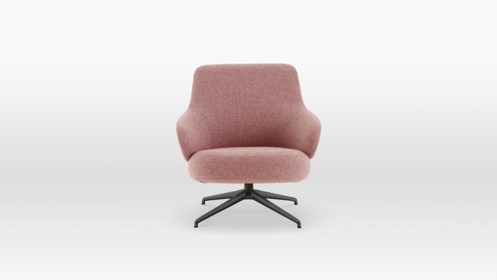 Pillo Low Back Easy Chair by Swedese