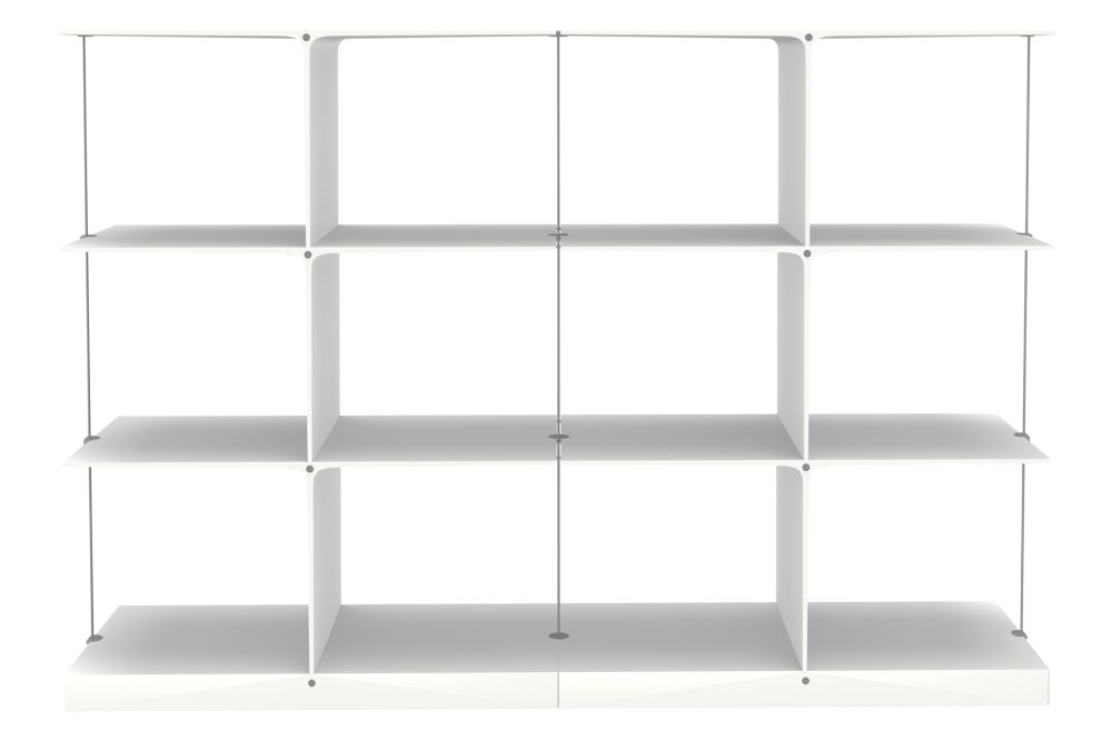 Poise Shelving System, 3x2 by Engelbrechts