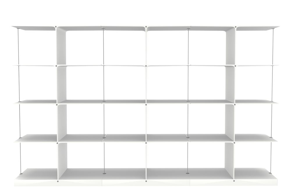 Poise Shelving System, 4x3 by Engelbrechts