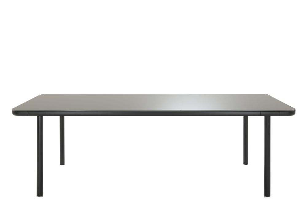 Black Glass, Black Chrome,Coedition,Dining Tables