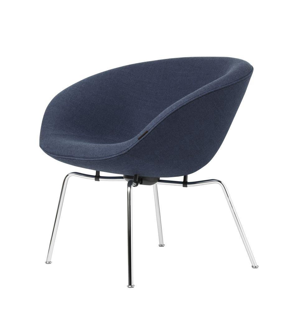 Fritz Category 1, Dark Brown Powder Coated,Fritz Hansen,Lounge Chairs