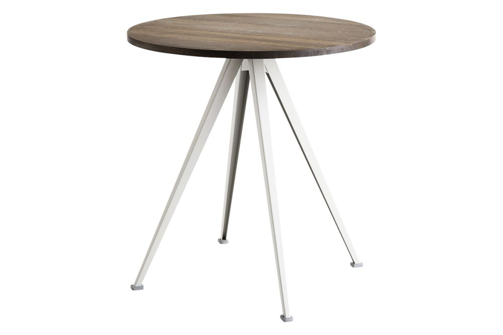 Pyramid 21 Round Café Table by Hay