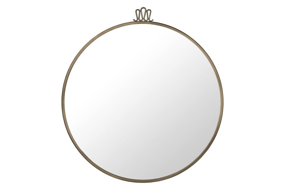 Randaccio Wall Mirror, Round by Gubi