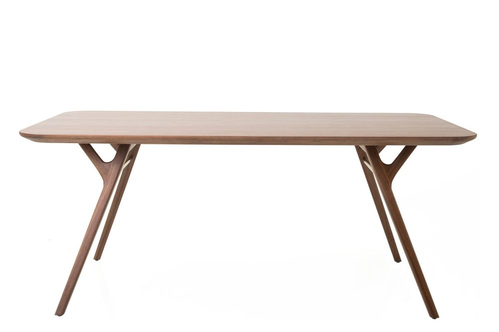 Natural Walnut, 180,Stellar Works,Dining Tables
