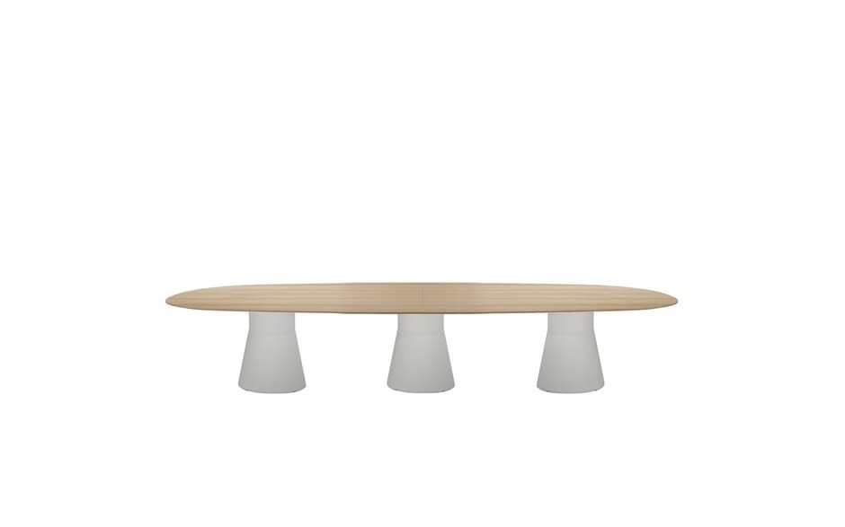 Reverse Lounge Table with 3 Central Base by Andreu World
