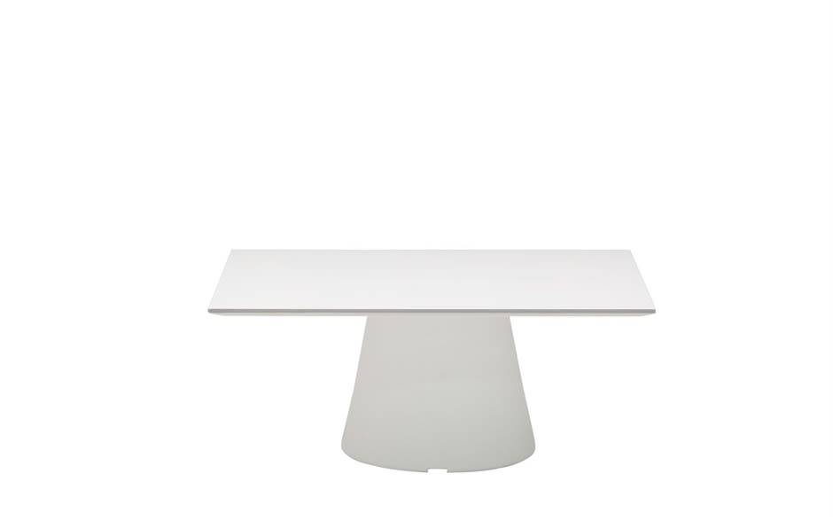 Reverse Occassional Solid Surface Square Coffee Table by Andreu World