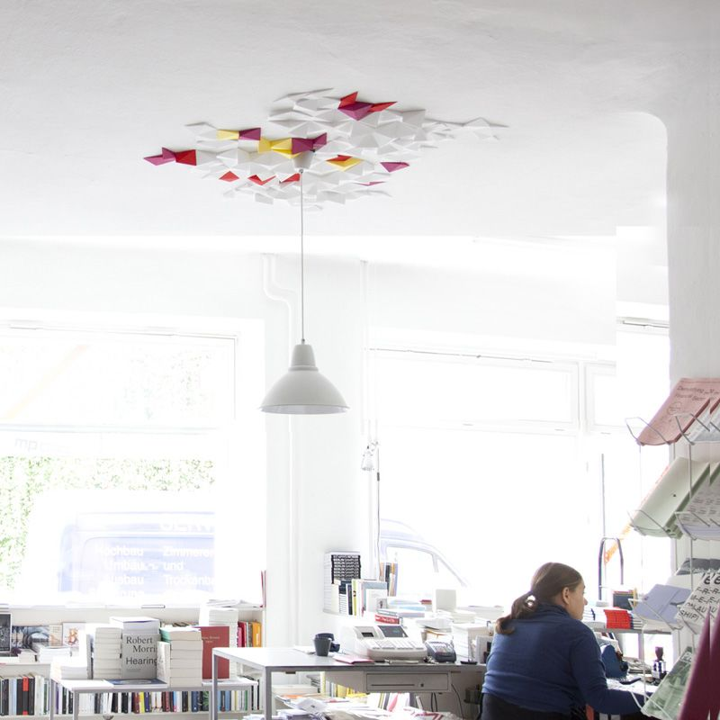 Rhombus Ceiling TIles by FUNDAMENTAL.BERLIN